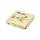 11731-9 Салфетки «Папирус» трехслойные 33х33 см шампань 30 шт