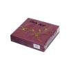 11735-5 Салфетки «Папирус» трехслойные 33х33 см бордо 30 шт
