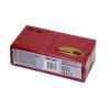 11825-1 Салфетки «Папирус Люкс» двухслойные 24х24 см красные 200 шт