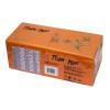 11940-10 Салфетки «Папирус Люкс» трехслойные 33х33 см оранжевые 250 шт