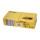 11835-3 Салфетки «Папирус Люкс» двухслойные 33х33 см желтые 250 шт